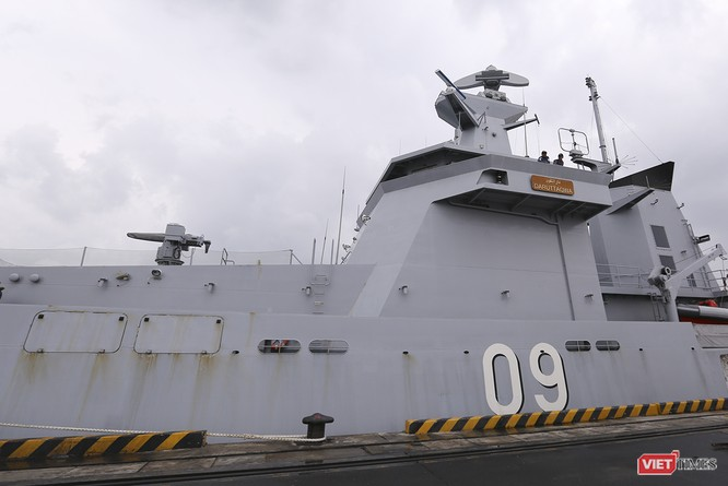 Tham gia tập trận, tàu tuần tra Hải quân Brunei đến thăm Đà Nẵng ảnh 3