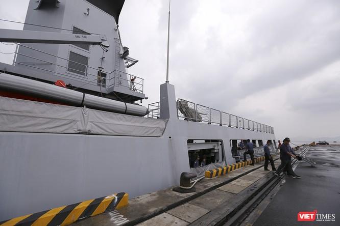 Tham gia tập trận, tàu tuần tra Hải quân Brunei đến thăm Đà Nẵng ảnh 6