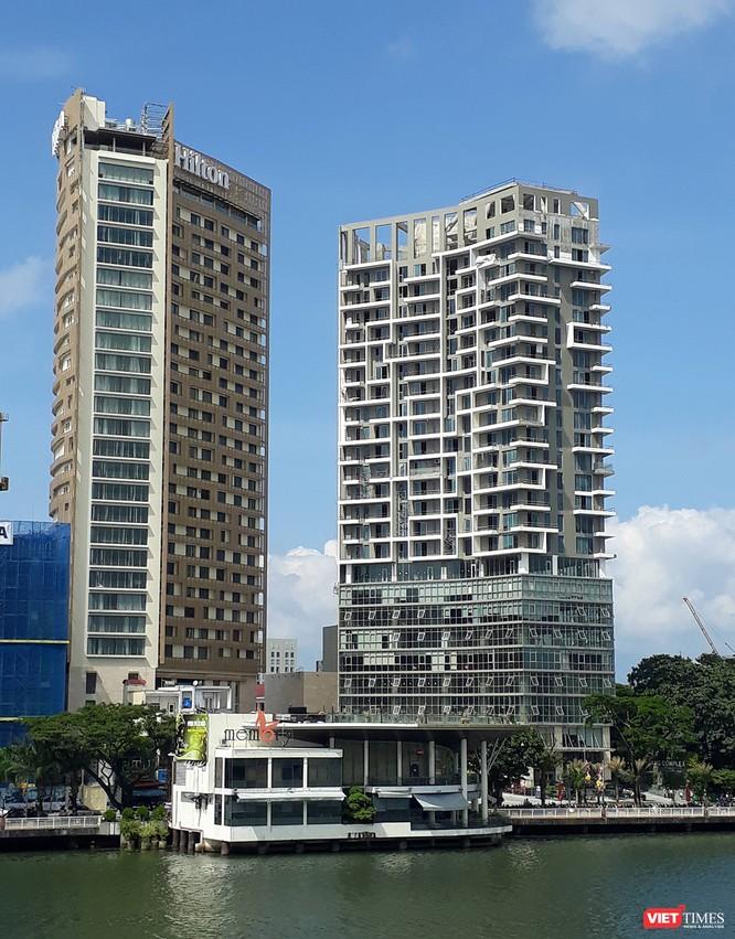 Đà Nẵng yêu cầu tháo dỡ công trình không phép tại mặt tiền tổ hợp khách sạn 4 sao ảnh 1