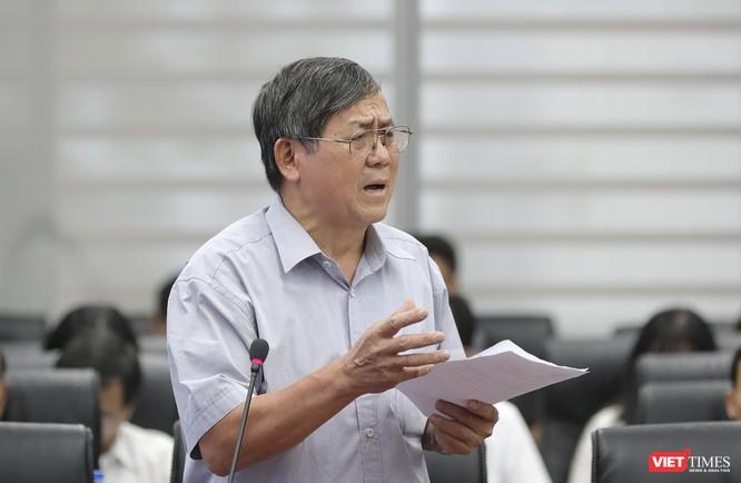"""Lần đầu tiên """"đăng đàn"""", tân Giám đốc Sở TNMT Đà Nẵng nói sẽ làm gì để cứu bãi biển, khắc phục ô nhiễm? ảnh 1"""