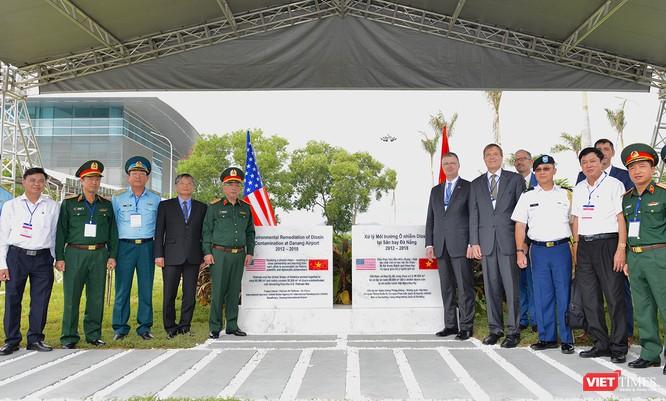 Hoa Kỳ bàn giao diện tích cuối cùng tại Sân bay Đà Nẵng đã hoàn thành xử lý Dioxin ảnh 1