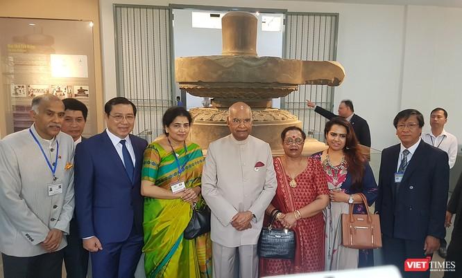 Tổng thống Ấn Độ đến Đà Nẵng, thăm Bảo tàng điêu khắc Chăm ảnh 2