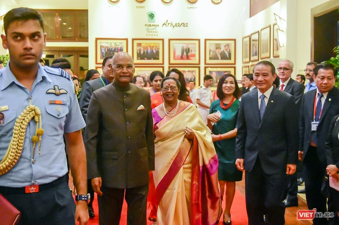 Tổng thống Ấn Độ đến Đà Nẵng, thăm Bảo tàng điêu khắc Chăm ảnh 3