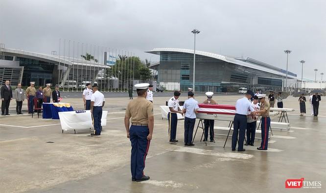Việt Nam bàn giao thêm 3 bộ hài cốt quân nhân Mỹ ảnh 5