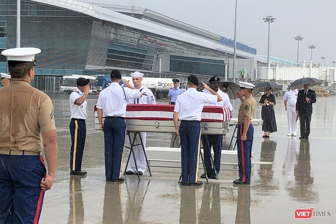 Việt Nam bàn giao thêm 3 bộ hài cốt quân nhân Mỹ ảnh 7