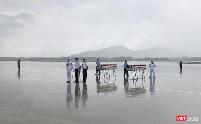 Việt Nam bàn giao thêm 3 bộ hài cốt quân nhân Mỹ ảnh 13