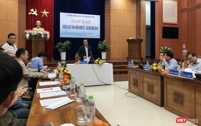 Quảng Nam: GRDP 2018 tăng trưởng 8,11%, đạt 68.000 tỷ đồng ảnh 1