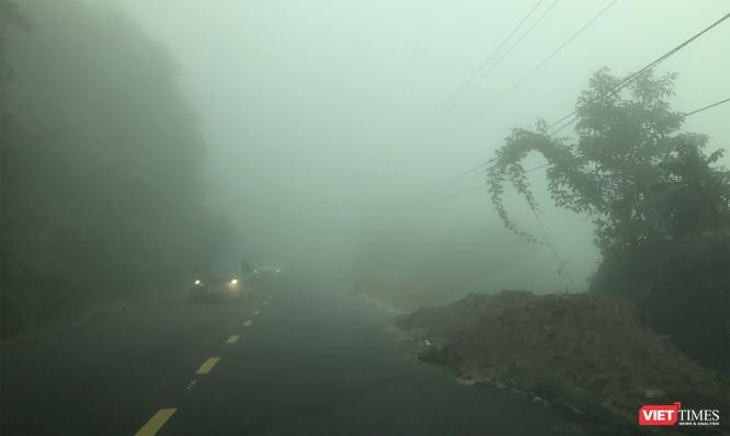 """Du khách hứng thú ngắm """"sông mây"""" trên đỉnh Sơn Trà ảnh 12"""
