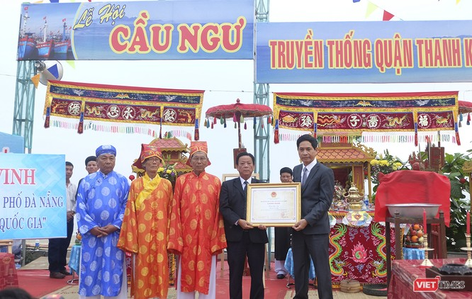 Lễ hội Cầu ngư Đà Nẵng được vinh danh là di sản văn hóa phi vật thể Quốc gia ảnh 1