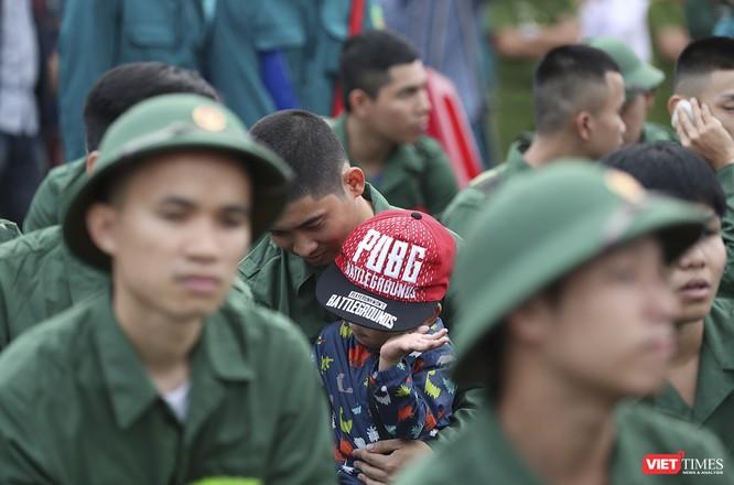 Chùm ảnh: Những khoảnh khắc xúc động trong Lễ giao nhận quân Đà Nẵng 2019 ảnh 11