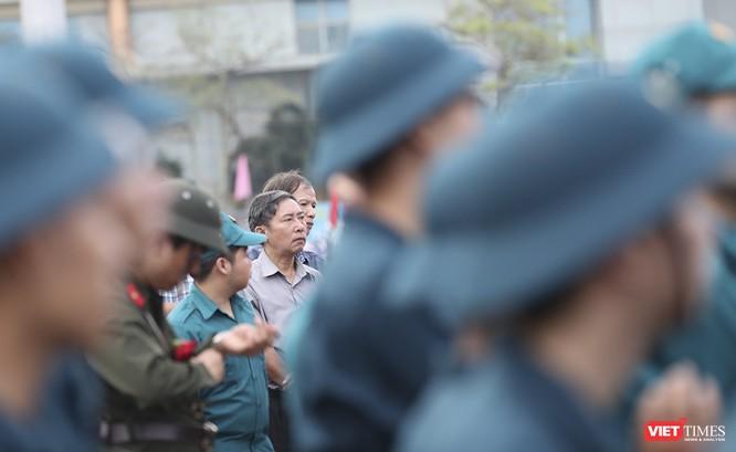 Chùm ảnh: Những khoảnh khắc xúc động trong Lễ giao nhận quân Đà Nẵng 2019 ảnh 16