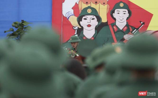 Chùm ảnh: Những khoảnh khắc xúc động trong Lễ giao nhận quân Đà Nẵng 2019 ảnh 18