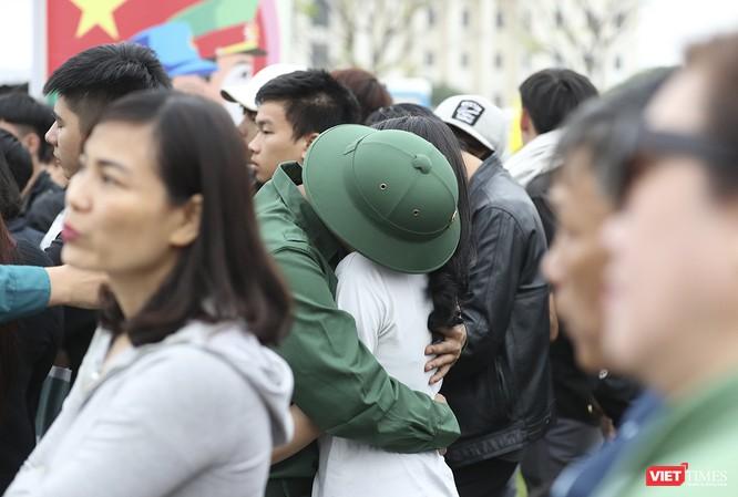 Chùm ảnh: Những khoảnh khắc xúc động trong Lễ giao nhận quân Đà Nẵng 2019 ảnh 20