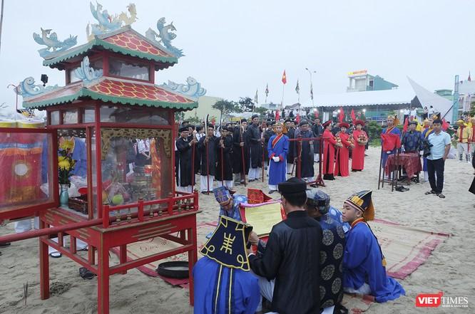 Lễ hội Cầu ngư Đà Nẵng được vinh danh là di sản văn hóa phi vật thể Quốc gia ảnh 4
