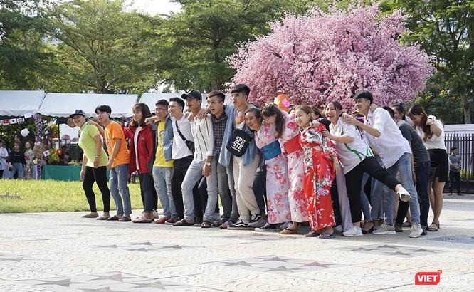 Những hình ảnh ấn tượng tại Lễ hội giao lưu văn hóa Việt-Nhật ảnh 1