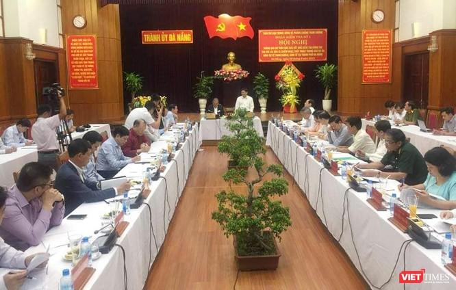 Ngày 29/3, Đoàn kiểm tra số 1 Ban chỉ đạo Trung ương về phòng, chống tham nhũng (PCTN) do Phó Thủ tướng thường trực Chính phủ Trương Hòa Bình làm trưởng đoàn đã làm việc với Ban Thường vụ Thành ủy Đà Nẵng