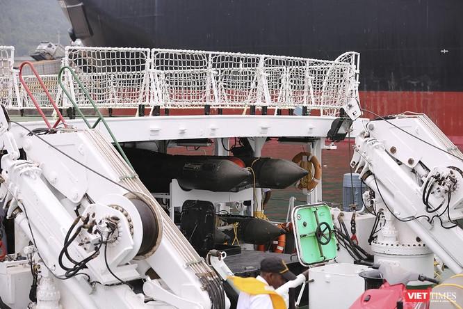 Tàu cảnh sát biển Ấn Độ chính thức đến thăm Đà Nẵng trong 4 ngày ảnh 11