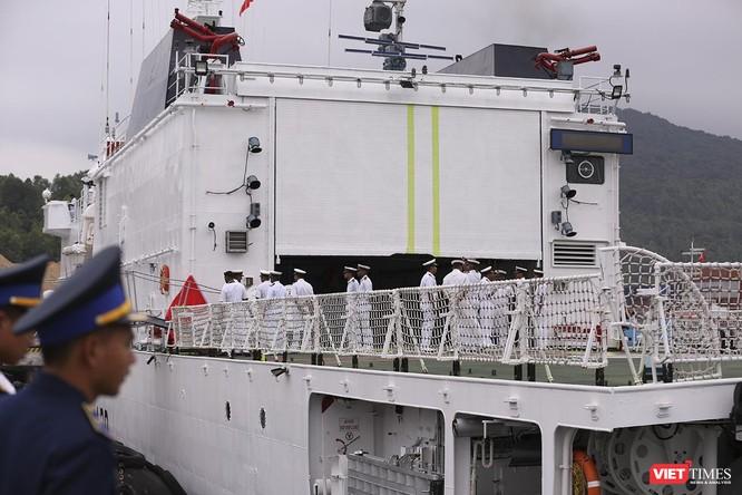 Tàu cảnh sát biển Ấn Độ chính thức đến thăm Đà Nẵng trong 4 ngày ảnh 12