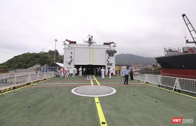 Tàu cảnh sát biển Ấn Độ chính thức đến thăm Đà Nẵng trong 4 ngày ảnh 13