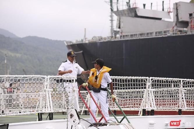 Tàu cảnh sát biển Ấn Độ chính thức đến thăm Đà Nẵng trong 4 ngày ảnh 14