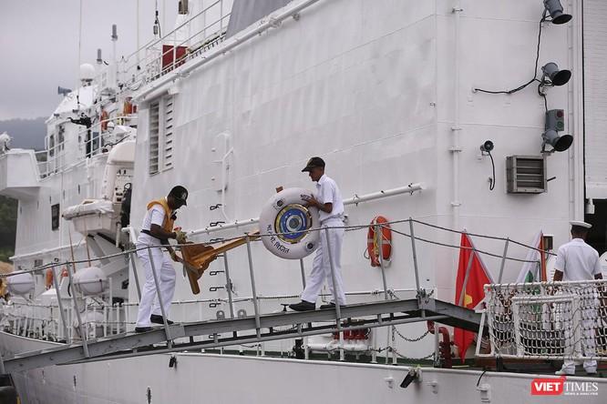 Tàu cảnh sát biển Ấn Độ chính thức đến thăm Đà Nẵng trong 4 ngày ảnh 15