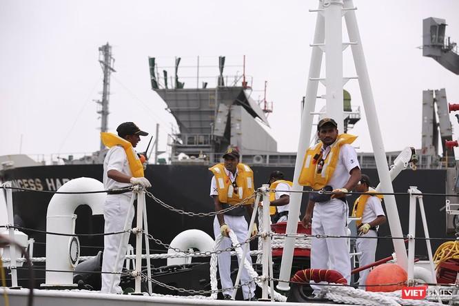Tàu cảnh sát biển Ấn Độ chính thức đến thăm Đà Nẵng trong 4 ngày ảnh 16