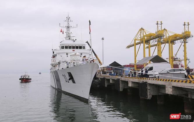Tàu cảnh sát biển Ấn Độ chính thức đến thăm Đà Nẵng trong 4 ngày ảnh 2