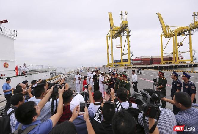 Tàu cảnh sát biển Ấn Độ chính thức đến thăm Đà Nẵng trong 4 ngày ảnh 19