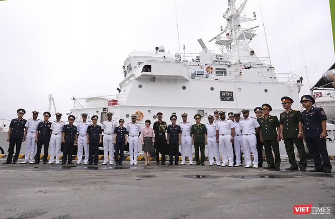 Tàu cảnh sát biển Ấn Độ chính thức đến thăm Đà Nẵng trong 4 ngày ảnh 20