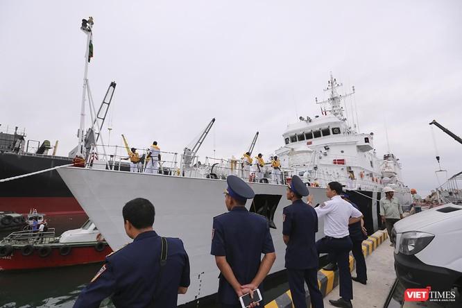 Tàu cảnh sát biển Ấn Độ chính thức đến thăm Đà Nẵng trong 4 ngày ảnh 3