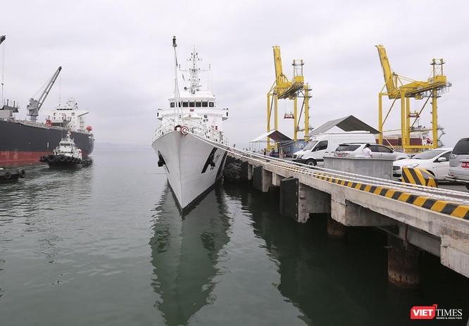 Tàu cảnh sát biển Ấn Độ chính thức đến thăm Đà Nẵng trong 4 ngày ảnh 4
