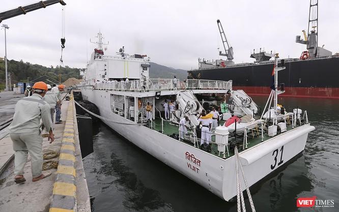 Tàu cảnh sát biển Ấn Độ chính thức đến thăm Đà Nẵng trong 4 ngày ảnh 5