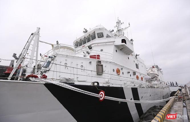 Tàu cảnh sát biển Ấn Độ chính thức đến thăm Đà Nẵng trong 4 ngày ảnh 6