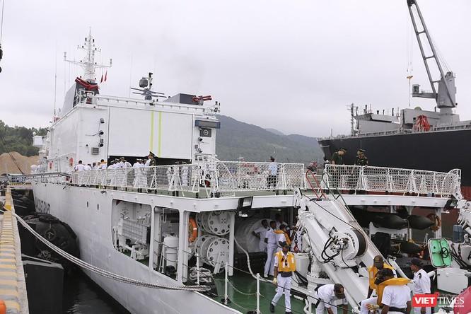 Tàu cảnh sát biển Ấn Độ chính thức đến thăm Đà Nẵng trong 4 ngày ảnh 7