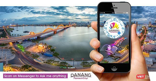 Chatbot, một trong những ứng dụng trực tuyến được Đà Nẵng đưa vào phục vụ du khách và người dân trong lĩnh vực du lịch, hành chính công