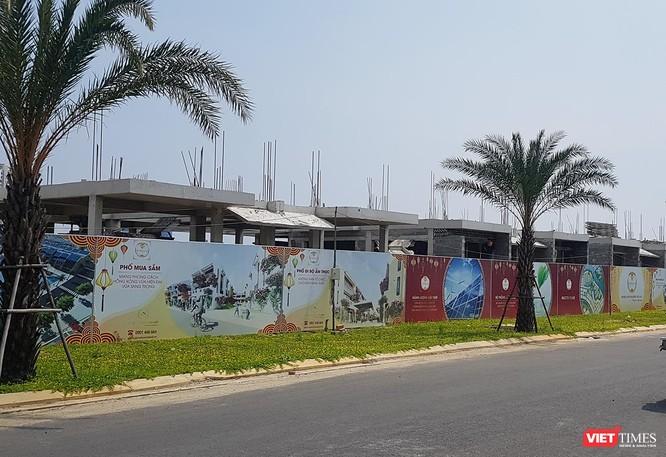 Cụm công trình Khu biệt thự Song Lập tại Khu đô thị số 6 được DanaHome Land xây dựng đến sàn tầng 1