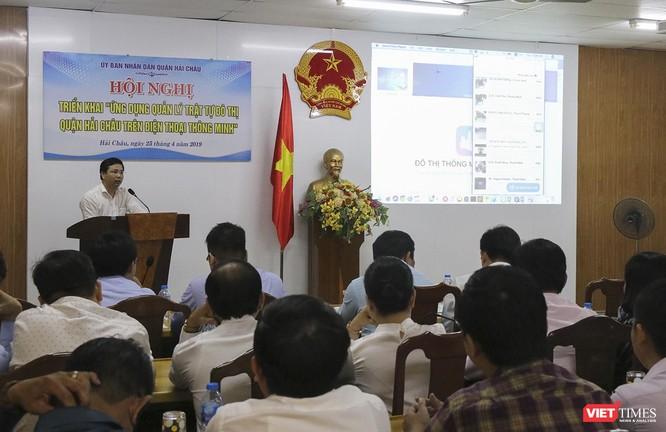Đà Nẵng: Triển khai quản lý trật tự đô thị bằng ứng dụng di động ảnh 1