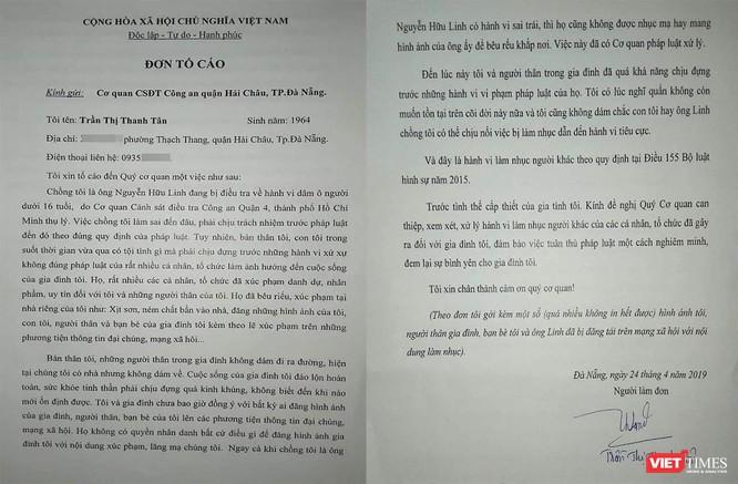 Vợ ông Nguyễn Hữu Linh xin rút đơn tố cáo vừa gửi Công an trước đó ảnh 1