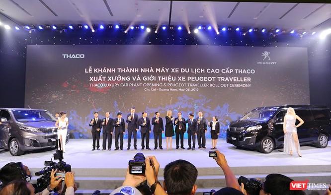 Thaco khánh thành Nhà máy xe du lịch cao cấp Peugeot tiêu chuẩn toàn cầu tại Quảng Nam ảnh 1