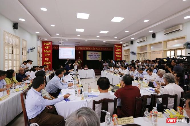 Sáng 7/5, Ủy ban MTTQ TP Đà Nẵng tổ chức đã tổ chức Hội nghị Phản biện Dự án BĐS và Bến du thuyền dưới sự chủ trì của bà Đặng Thị Kim Liên, Chủ tịch Ủy ban MTTQ Việt Nam TP Đà Nẵng