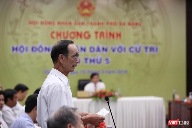 Cử tri Nguyễn Tựa, phường Hòa Khánh Nam, quận Liên Chiểu ý kiến về tình trạng ô nhiễm và quá tại tại bãi rác Khánh Sơn.