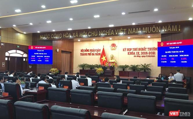 Kỳ họp thứ 10 (bất thường) HĐND TP Đà Nẵng khóa IX đã thông qua nhiều nội dung quan trọng tác động đến phát triển địa phương