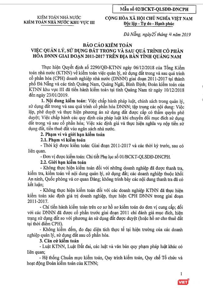 Chủ tịch Quảng Nam nói gì khi tỉnh bị Kiểm toán Nhà nước phát lộ nhiều sai phạm đất đai? ảnh 1