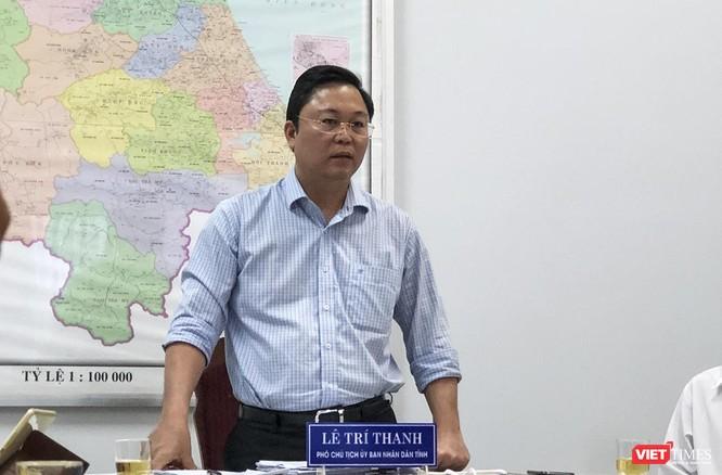 Ông Lê Trí Thanh, Phó Chủ tịch UBND tỉnh Quảng Nam