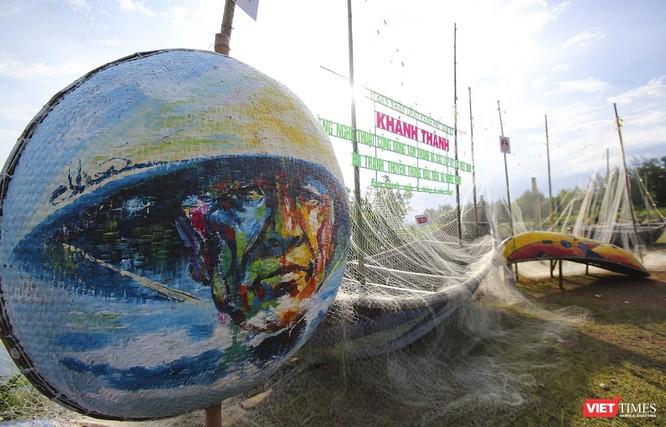 Quảng Nam: Khôi phục Dự án tranh vẽ nghệ thuật trên thuyền thúng Tam Thanh ảnh 2