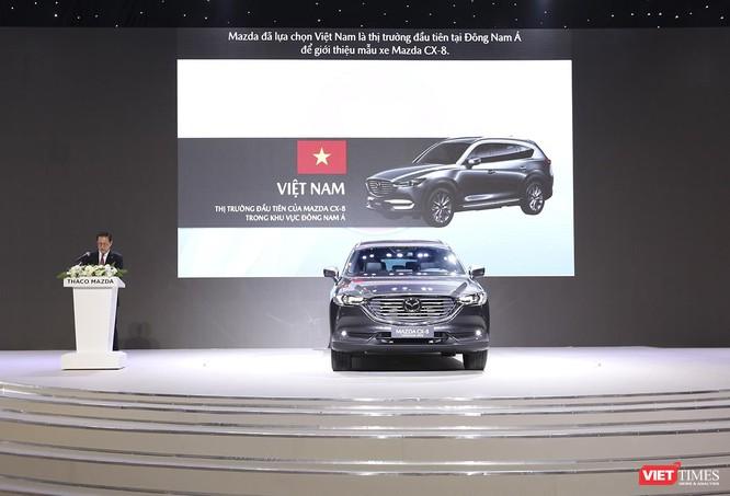 Mazda CX-8 lần đầu tiên ra mắt tại Đông Nam Á có gì? ảnh 1