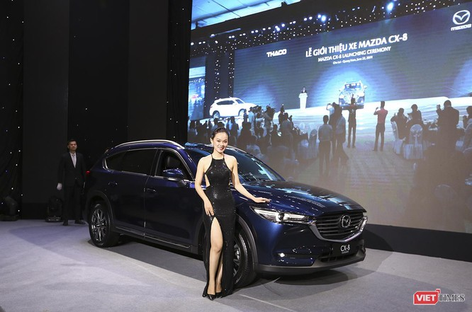 Mazda CX-8 lần đầu tiên ra mắt tại Đông Nam Á có gì? ảnh 5