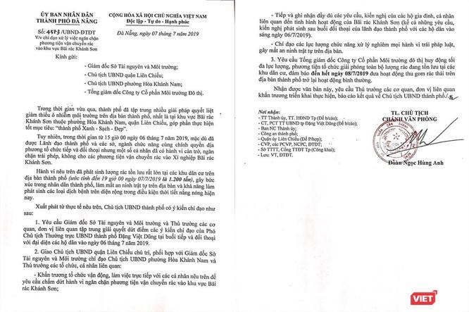 Dân chặn xe khiến thành phố ùn ứ rác, Chủ tịch TP Đà Nẵng triệu tập họp khẩn ảnh 1
