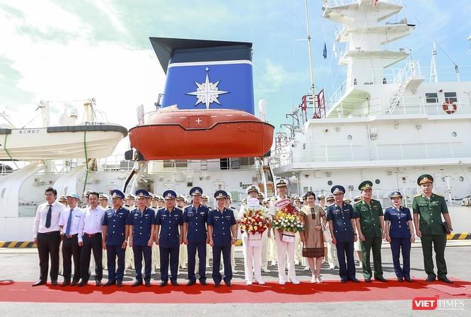 Tàu lực lượng bảo vệ bờ biển Nhật Bản đến thăm Đà Nẵng ảnh 2
