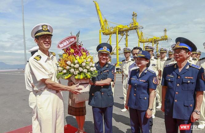 Tàu lực lượng bảo vệ bờ biển Nhật Bản đến thăm Đà Nẵng ảnh 1